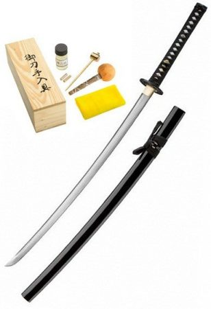BÖKER MAGNUM Hand Forged Damascus Samurai Sword