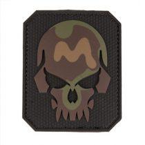 MIL-TEC Pvc skull camo 3D patch