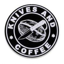 AUDACIOUS CONCEPT Knives and Coffee patch
