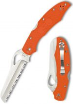 SPYDERCO BYRD Cara Cara Rescue Orange FRN