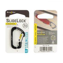 NITE IZE #2 SlideLock karabinert - Több színben