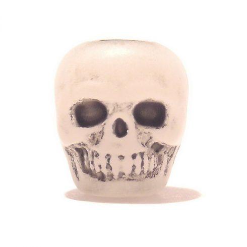Paracord műgyanta koponya - Foszforeszkáló