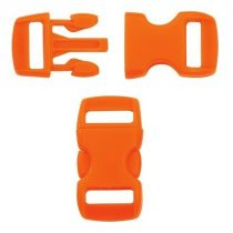 Paracord műanyag csat 10 mm - Narancs