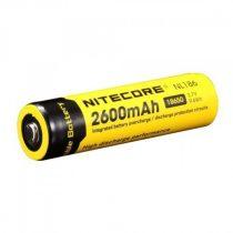 NITECORE 18650 típusú 2600 mAh akkumulátor