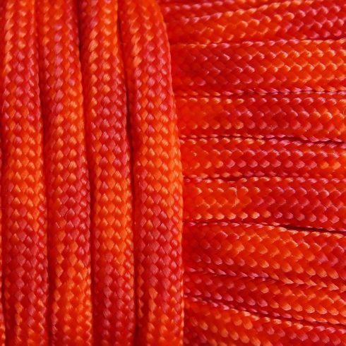Paracord zsínór - Narancs  & piros