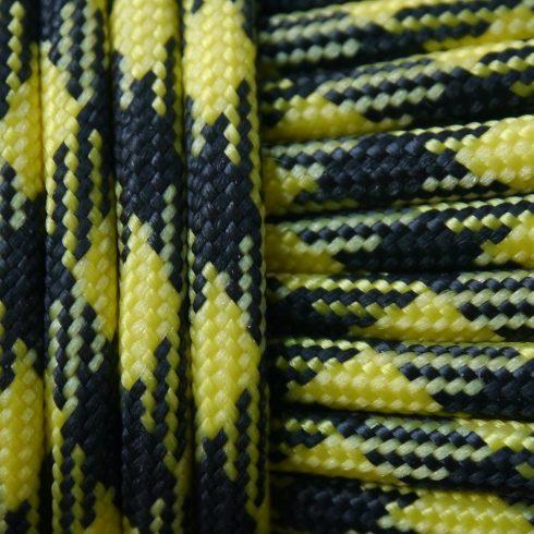 Paracord zsínór - Sárga & fekete
