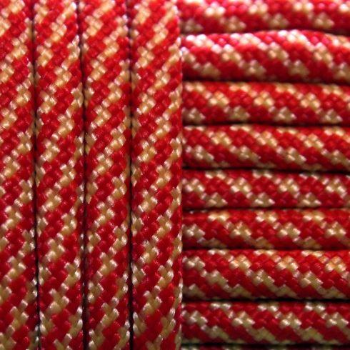 Paracord zsínór - Redwhite Diamond