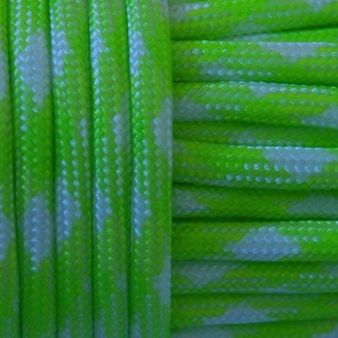Paracord zsinór - Green mamba