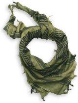 M-TRAMP Shemag - arab kendő - fekete/zöld