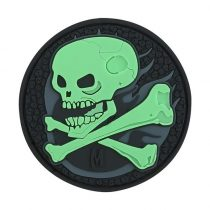 MAXPEDITION Skull Morale Patch Glow in the dark