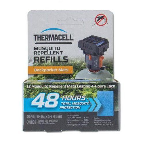 THERMACELL 48 órás utántöltő Backpacker világjáró készülékhez (csak lapkák patron nélkül)